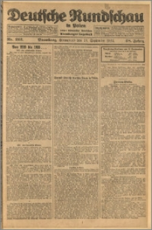 Deutsche Rundschau in Polen. J. 48, 1924, nr 212