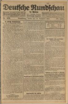 Deutsche Rundschau in Polen. J. 48, 1924, nr 276