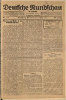 Deutsche Rundschau in Polen. J. 49, 1925, nr 55