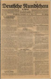 Deutsche Rundschau in Polen. J. 49, 1925, nr 89