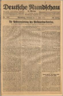 Deutsche Rundschau in Polen. J. 49, 1925, nr 137