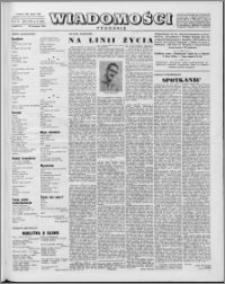 Wiadomości, R. 13 nr 16 (629), 1958
