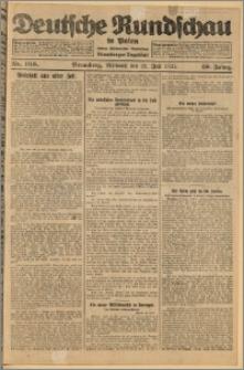 Deutsche Rundschau in Polen. J. 49, 1925, nr 166