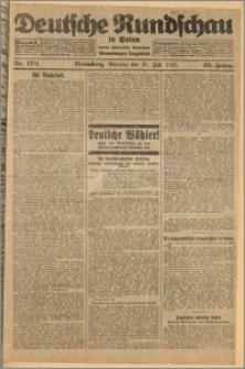 Deutsche Rundschau in Polen. J. 49, 1925, nr 170