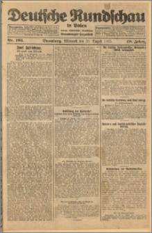 Deutsche Rundschau in Polen. J. 49, 1925, nr 195