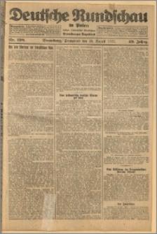 Deutsche Rundschau in Polen. J. 49, 1925, nr 198