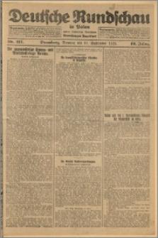 Deutsche Rundschau in Polen. J. 49, 1925, nr 211