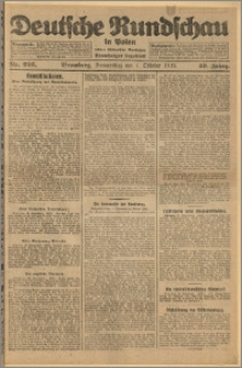 Deutsche Rundschau in Polen. J. 49, 1925, nr 226