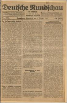 Deutsche Rundschau in Polen. J. 49, 1925, nr 228