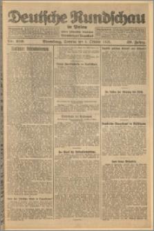Deutsche Rundschau in Polen. J. 49, 1925, nr 229