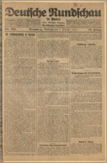 Deutsche Rundschau in Polen. J. 49, 1925, nr 231