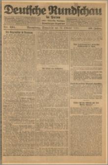 Deutsche Rundschau in Polen. J. 49, 1925, nr 234
