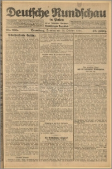 Deutsche Rundschau in Polen. J. 49, 1925, nr 235