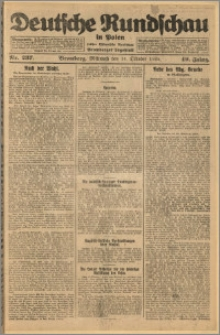 Deutsche Rundschau in Polen. J. 49, 1925, nr 237
