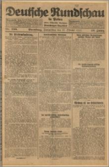Deutsche Rundschau in Polen. J. 49, 1925, nr 238