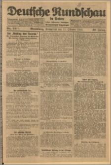 Deutsche Rundschau in Polen. J. 49, 1925, nr 240