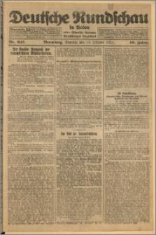 Deutsche Rundschau in Polen. J. 49, 1925, nr 241