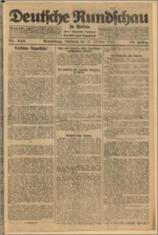 Deutsche Rundschau in Polen. J. 49, 1925, nr 243
