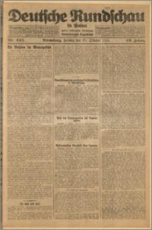 Deutsche Rundschau in Polen. J. 49, 1925, nr 245