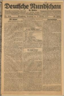 Deutsche Rundschau in Polen. J. 49, 1925, nr 252