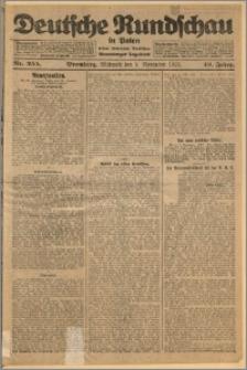 Deutsche Rundschau in Polen. J. 49, 1925, nr 255