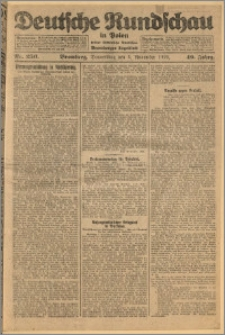 Deutsche Rundschau in Polen. J. 49, 1925, nr 256