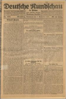 Deutsche Rundschau in Polen. J. 32 (49), 1925, nr 258