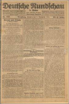 Deutsche Rundschau in Polen. J. 32 (49), 1925, nr 259