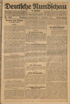 Deutsche Rundschau in Polen. J. 32 (49), 1925, nr 260