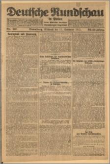 Deutsche Rundschau in Polen. J. 32 (49), 1925, nr 261