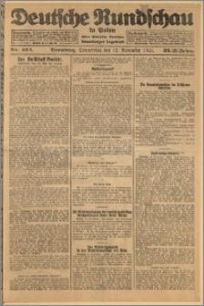 Deutsche Rundschau in Polen. J. 32 (49), 1925, nr 262