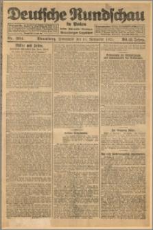 Deutsche Rundschau in Polen. J. 32 (49), 1925, nr 264