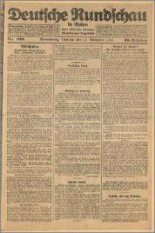 Deutsche Rundschau in Polen. J. 32 (49), 1925, nr 266