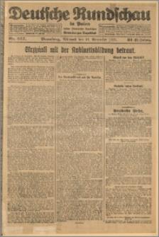 Deutsche Rundschau in Polen. J. 32 (49), 1925, nr 267