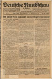 Deutsche Rundschau in Polen. J. 32 (49), 1925, nr 268