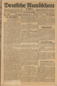 Deutsche Rundschau in Polen. J. 32 (49), 1925, nr 272