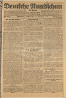 Deutsche Rundschau in Polen. J. 32 (49), 1925, nr 273