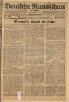 Deutsche Rundschau in Polen. J. 32 (49), 1925, nr 275