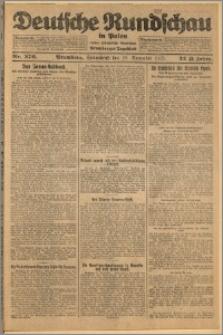 Deutsche Rundschau in Polen. J. 32 (49), 1925, nr 276
