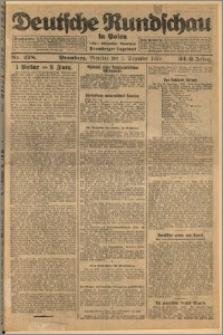 Deutsche Rundschau in Polen. J. 32 (49), 1925, nr 278