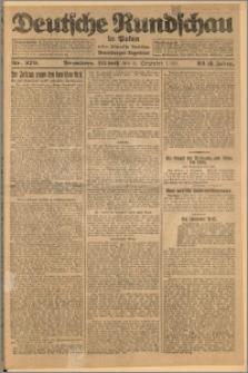 Deutsche Rundschau in Polen. J. 32 (49), 1925, nr 279