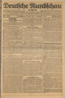 Deutsche Rundschau in Polen. J. 32 (49), 1925, nr 281