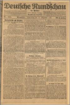 Deutsche Rundschau in Polen. J. 32 (49), 1925, nr 285