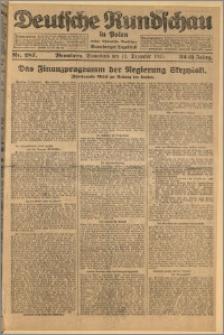 Deutsche Rundschau in Polen. J. 32 (49), 1925, nr 287