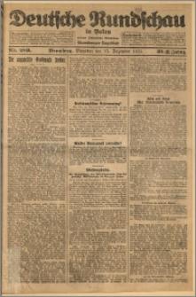 Deutsche Rundschau in Polen. J. 32 (49), 1925, nr 289
