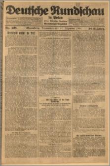Deutsche Rundschau in Polen. J. 32 (49), 1925, nr 291