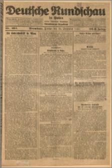 Deutsche Rundschau in Polen. J. 32 (49), 1925, nr 292