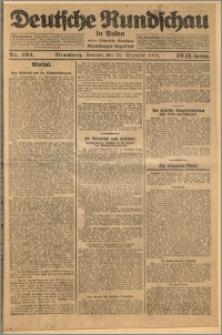Deutsche Rundschau in Polen. J. 32 (49), 1925, nr 294