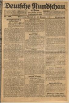 Deutsche Rundschau in Polen. J. 32 (49), 1925, nr 296