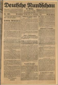 Deutsche Rundschau in Polen. J. 32 (49), 1925, nr 298